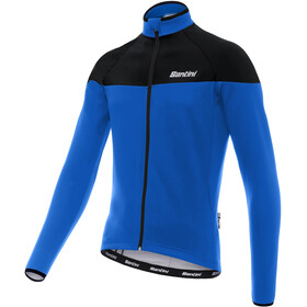 100% authentic 7c624 2f7a8 Santini Hermes Långärmad cykeltröja Herr blå svart